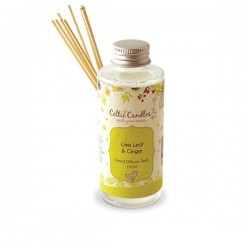 100ml Fragrance Diffuser Refill Lime Leaf & Ginger