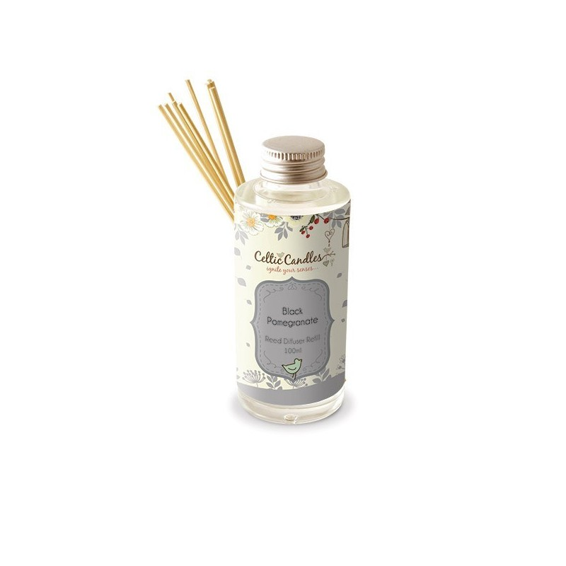 Fragrance Diffuser Refill 100ml - Black Pomegranate