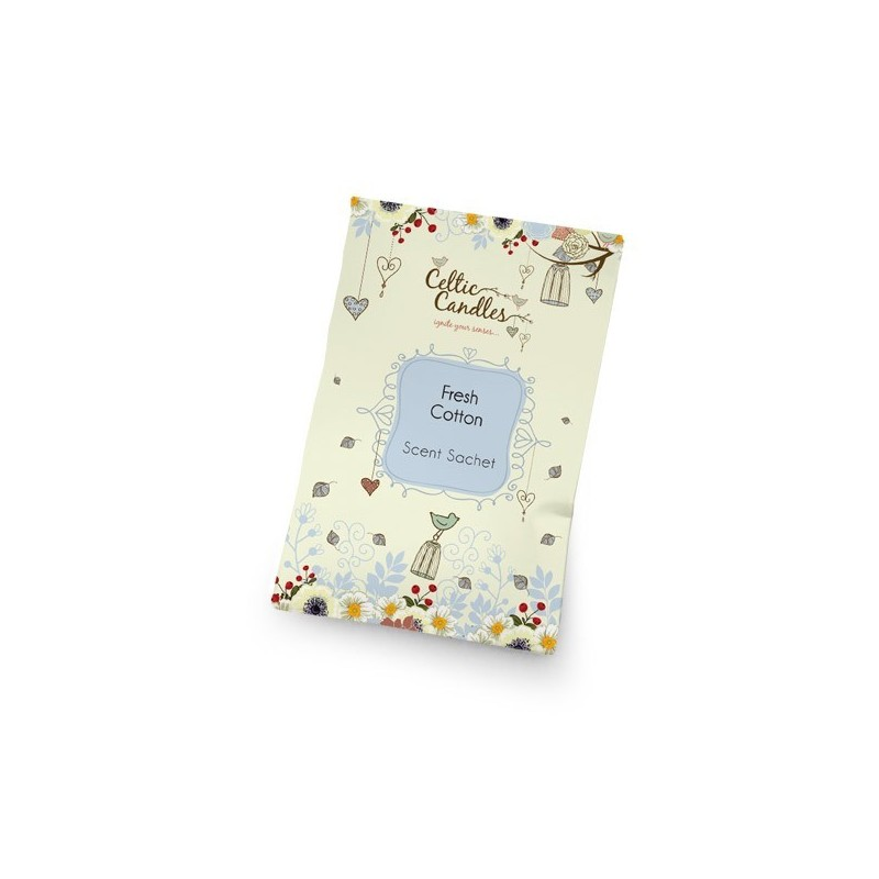 Scented sachets Fresh cotton