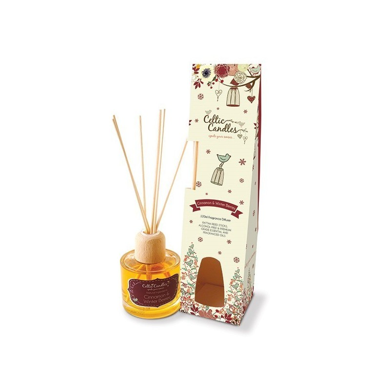 100ml Fragrance Diffuser Cinnamon and winter berries