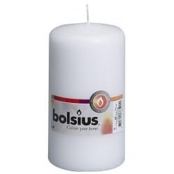 8 Pillar Candles (130mm x 70mm) – White