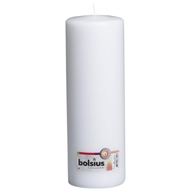 4 Pillar Candles (300mm x 98mm) – White