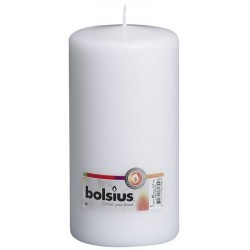 8 Pillar Candles (200mm x 100mm) – White