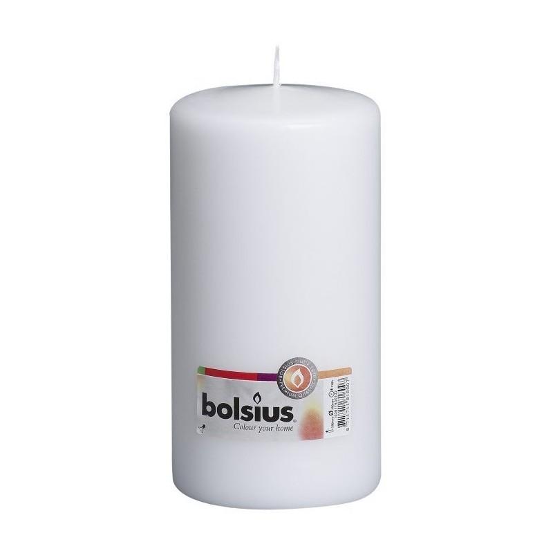 8 Pillar Candles (200mm x 100mm) – White