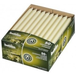 29cm Straight Dinner Candle Pack 50 x 2 – Ivory