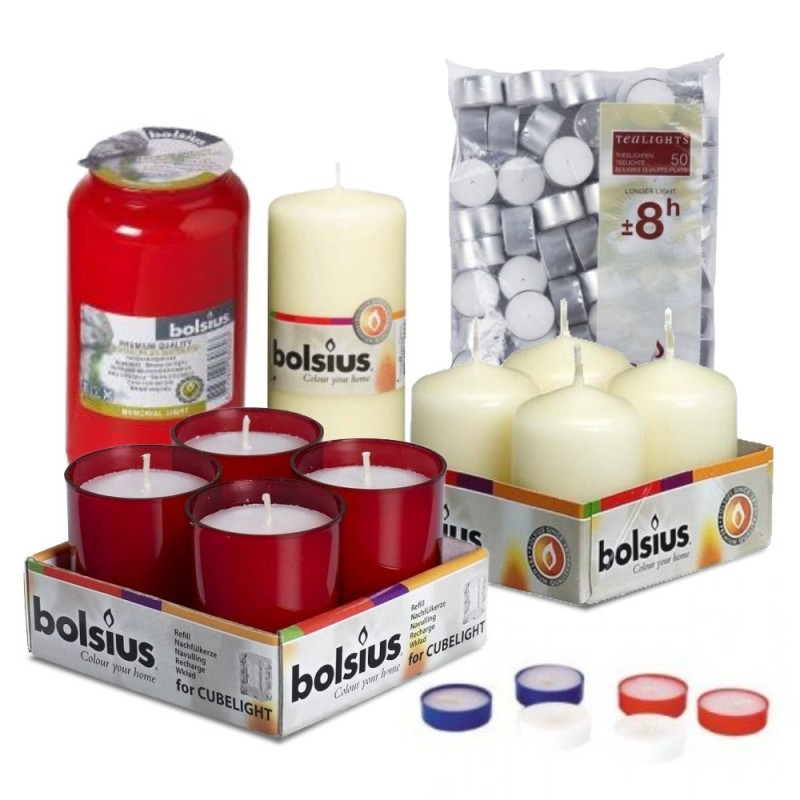 Wholesale - Buy Online Church candles, Pillar candles at Celtic Candles