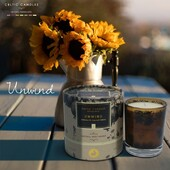 Unwind is a blend of spicy orange and mimosa flower....blended wiht the finest natural ingredients and available in diffusers,candles and refill #natural #irish #gift #gifting #mothersday #irishmammy  http://ow.ly/wVIR50DQ6qZ